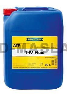 RAVENOL ATF T-IV Fluid  Синтетична трансмисионна течност (20 Литра)