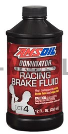 AMSOIL DOMINATOR DOT 4 Synthetic Racing Brake Fluid (355мл./12 унции)