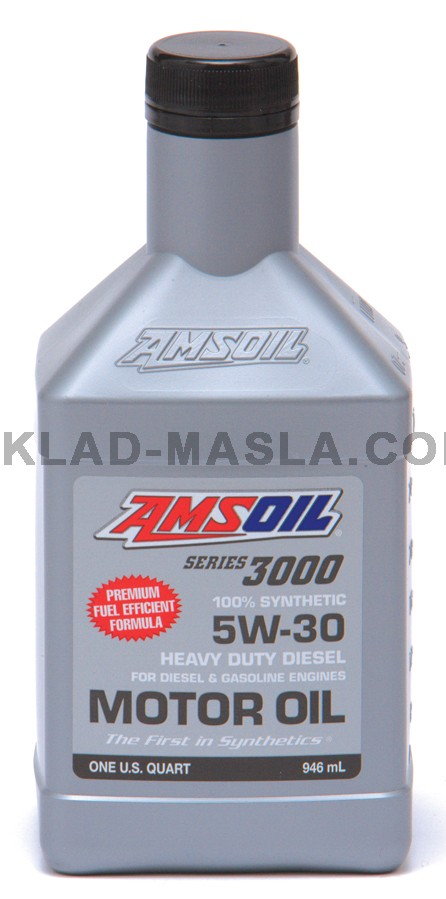 Series 3000 5W-30 Synthetic Heavy Duty Diesel Oil 100% синтетично моторно масло (946мл./1 кварта)