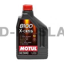 MOTUL 5w-40 x-cess Моторно масло (1 Литър)