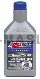 AMSOIL OE Fuel-Efficient Synthetic Automatic Transmission Fluid синтетично трансмисионно масло (946мл./1 кварта)