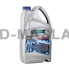 RAVENOL ATF T-IV Fluid  Синтетична трансмисионна течност (4 Литра)
