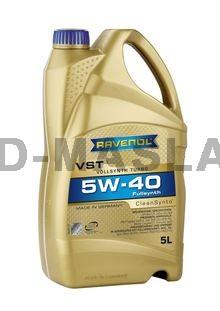 RAVENOL VST 5W-40 Синтетично моторно масло (5 Литра)