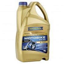 RAVENOL Motobike 4-T Ester 5W-40 (4 литра)