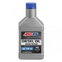 AMSOIL Heavy-Duty 15W-40 100% синтетично масло (0.946лт./1 кварта)