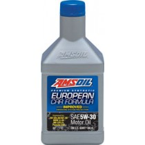 AMSOIL European Car Formula 5W-30 Improved ESP Синтетично моторно масло (946мл./1 кварта)