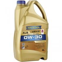 RAVENOL Arctic Low SAPS ALS SAE 0W-30 (4 литра. )