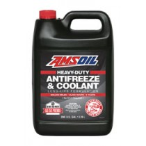 AMSOIL Heavy-Duty Antifreeze & Coolant Антифриз готов за употреба с защита до - 38°C (208,19 лт./55 галона)