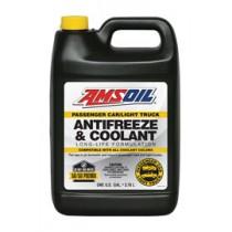 AMSOIL Passenger Car & Light Truck Antifreeze & Coolant Антифриз готов за употреба с защита до - 38°C (208,19 лт./55 галона)