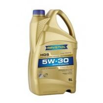 RAVENOL HDS HYDROCRACK DIESEL SPECIFIC SAE 5W-30 Моторно масло (5 Литра)