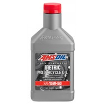 AMSOIL15W-50 100% Synthetic Metric Motorcycle Oil (946мл./1 кварта)