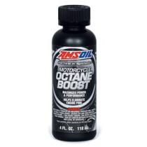 AMSOIL Octane Boost  Мотоциклетна Добавка за Повишаване на Октановото Число (355мл./12 унции)