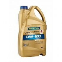 RAVENOL VSE 0W-20 Моторно масло (4 Литра)