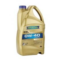RAVENOL Leichtlauföl SSL 0W-40 Синтетично моторно масло (5 Литра)