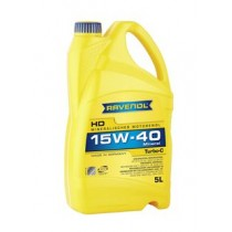RAVENOL Turbo-C HD-C SAE 15W-40 моторно масло 5 Литра