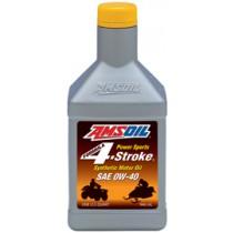 AMSOIL 0W-40 Formula 4-Stroke Power Sports Synthetic Motor Oil (946мл./1 кварта)