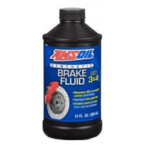 AMSOIL DOT 3 and DOT 4 Synthetic Brake Fluid (12унции/355мл.)