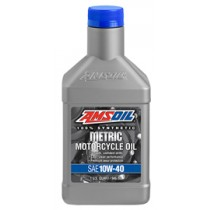 AMSOIL10W-40 100% Synthetic Metric Motorcycle Oil (946мл./1 кварта)
