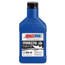 AMSOIL 10W-40 Synthetic Marine Engine Oil (946мл./1 кварта)