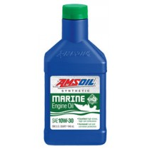 AMSOIL 10W-30 Synthetic Marine Engine Oil (946мл./1 кварта)